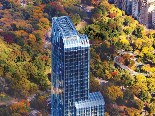 The exterior at One57