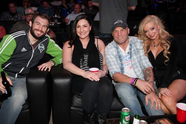 Randy Couture, Mindy Robinson and Ryan Couture