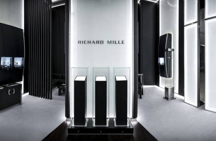 Richard Mille boutique the dubai mall