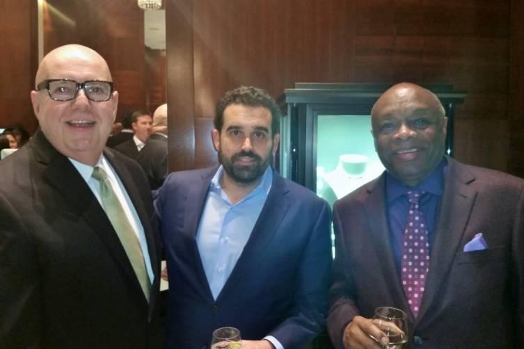 Robert Atkinson, Seth Semilof and Willie Brown