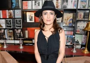 Salma Hayek attends Jaeger-LeCoultre and F&P Cinema lunch