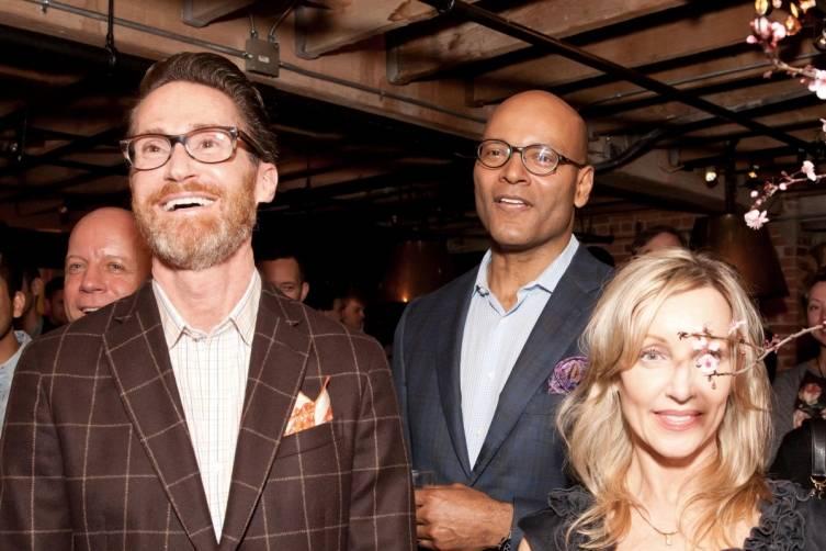 Ted Hiscox, Derek Barnes and Jona Collins