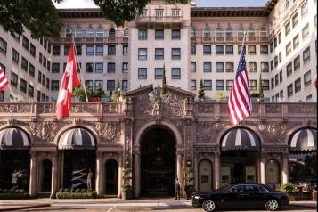 The Beverly Wilshire facade