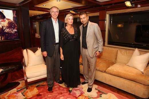 Tom Heyer, Kathy Kennedy and Kamal Hotchandani