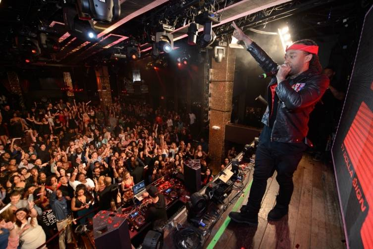 Ty Dolla $ign performs at Tao.