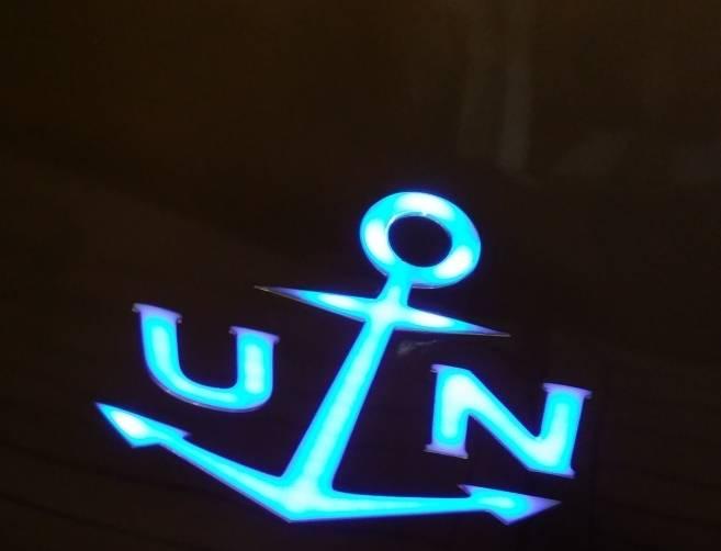 UN Lights aboard