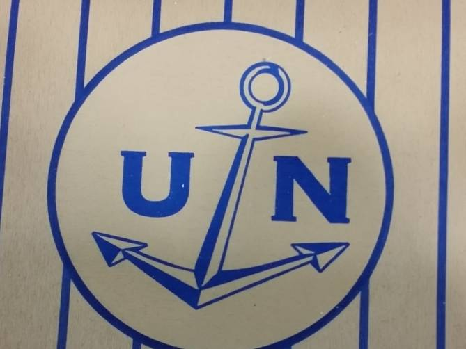 Ulysse branding aboard the UN MIdnight Express