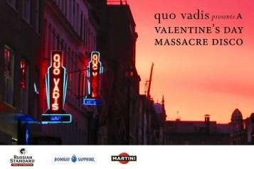 Valentine's Day Massacre Disco with ticket purcashe 2