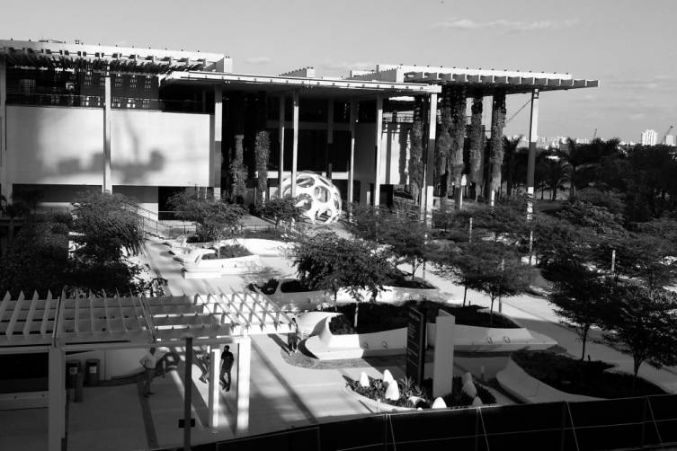 View of the PAMM from MiaSci