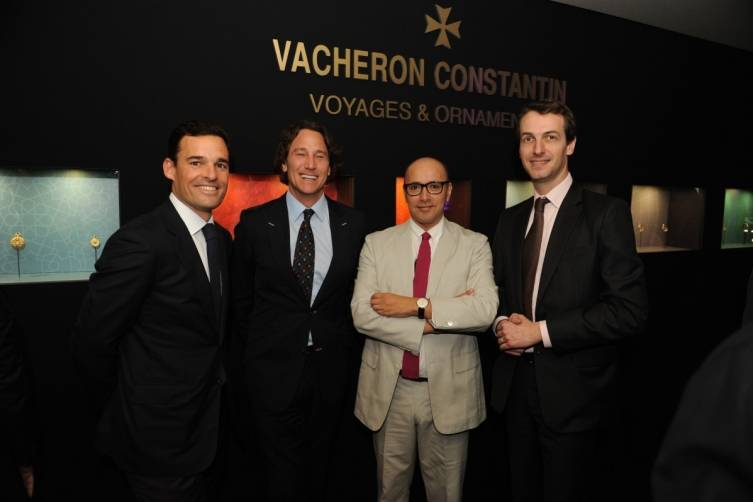 Yann Bouillonnec, Mark Cooper, Horatio Silva and Vincent Brun