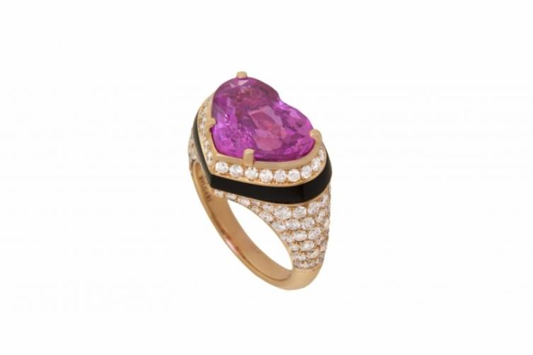 Bulgari heart ring