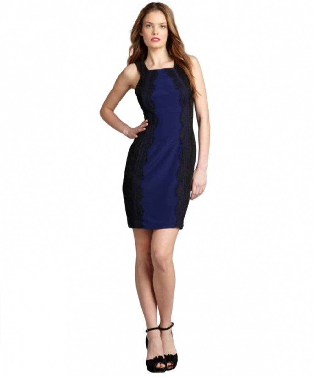 The dress broke internet - Deep Blue Black Jay Godfrey Deep Blue And