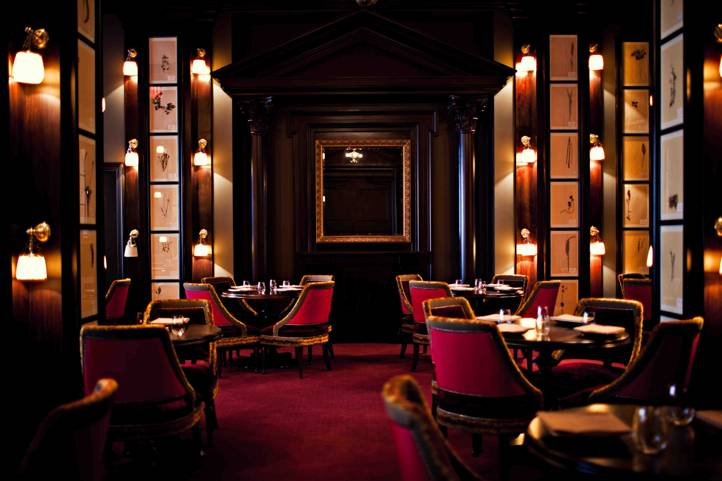 Daniel Humm S Hauntingly Beautiful Multi Faceted Dining Destination Is Comprised Of A Series Rooms Surrounding Gl Ensconced Atrium