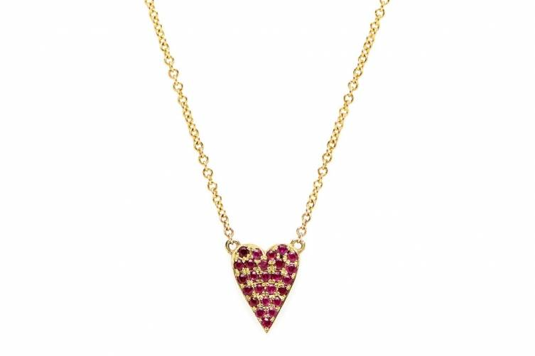 (Red) necklace with rubies