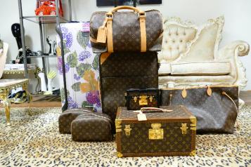 sonya_louis vuitton luggage