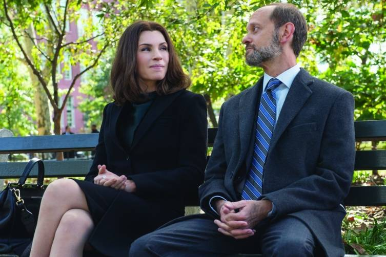 "Pierce opposite Julianna Margulies in ""The Good Wife"""