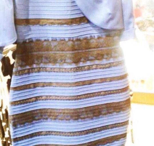 goldwhite and blueblack dresses inspired by the dress