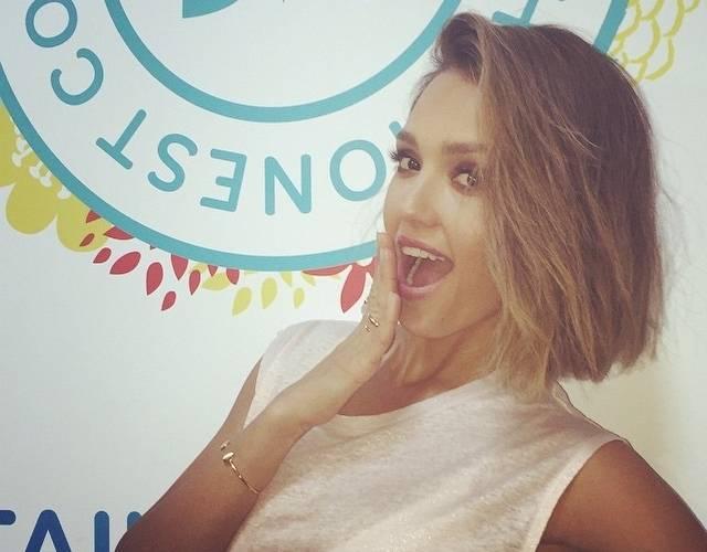 Jessica Alba debuts new haircut on Instagram