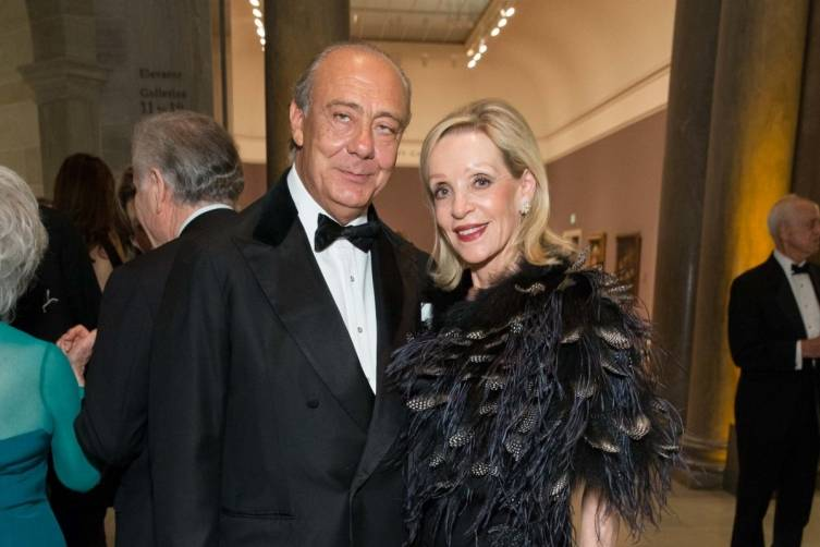 Fawaz Gruosi and Barbara Brown