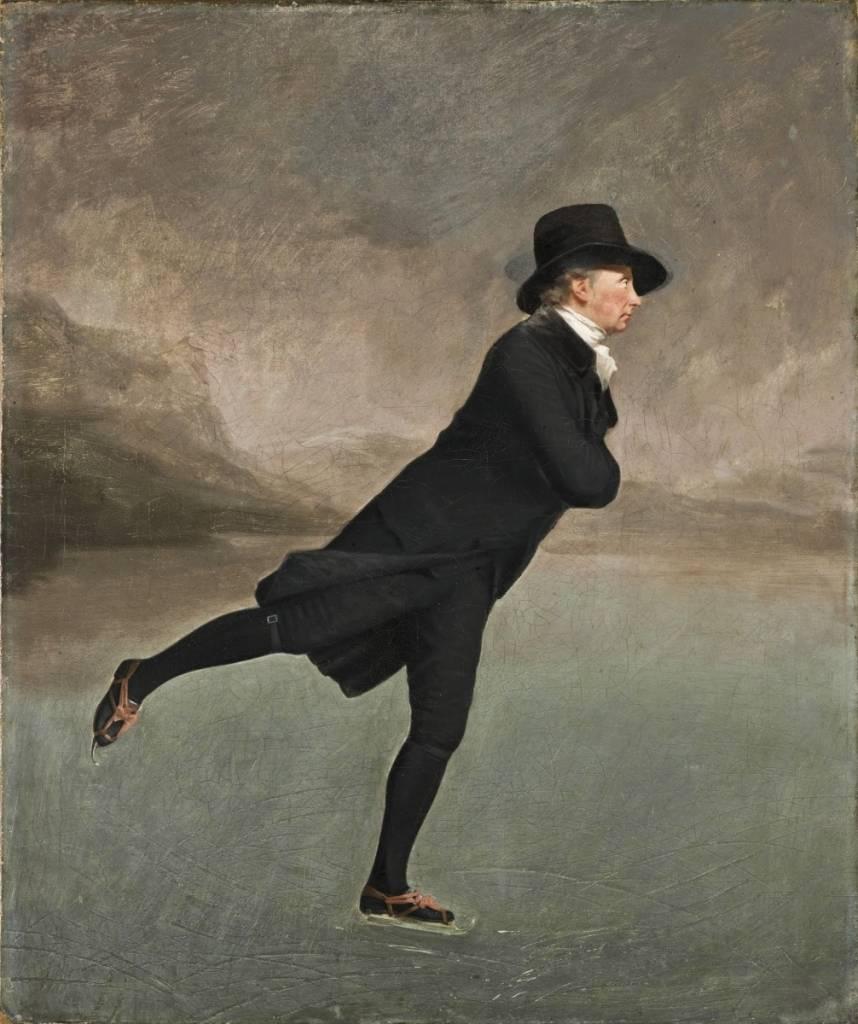Henry Raeburn, Revd. Robert Walker, Skating on Duddingston Loch, ca.1795. Oil on canvas