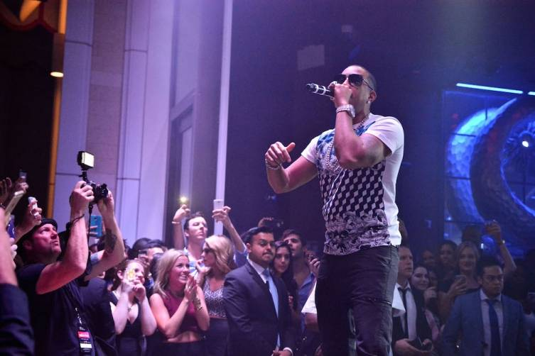 Ludacris performs at Surrender Nightclub.