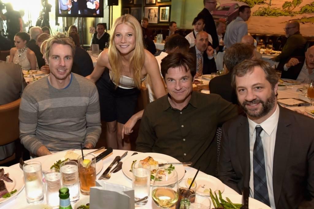 Dax Shepard, Gwyneth Paltrow, Jason Bateman and Judd Apatow