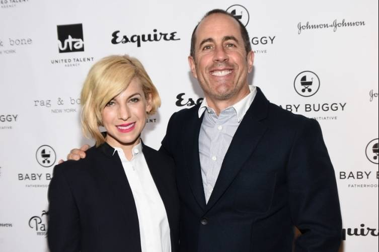 Jerry Seinfeld Hosts Baby Buggy Fatherhood Luncheon 8