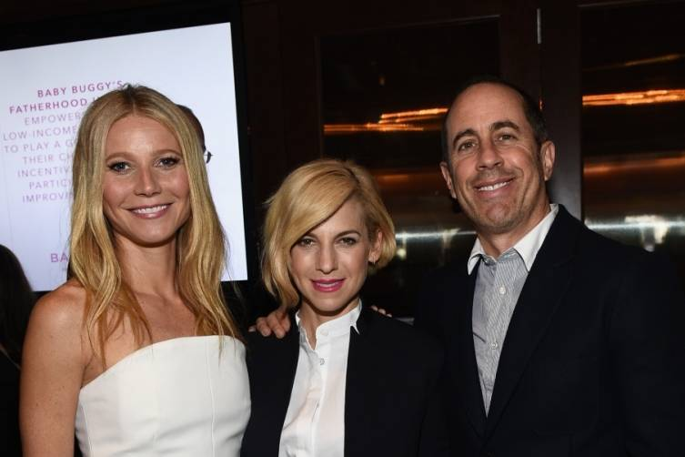 Jerry Seinfeld Hosts Baby Buggy Fatherhood Luncheon 4