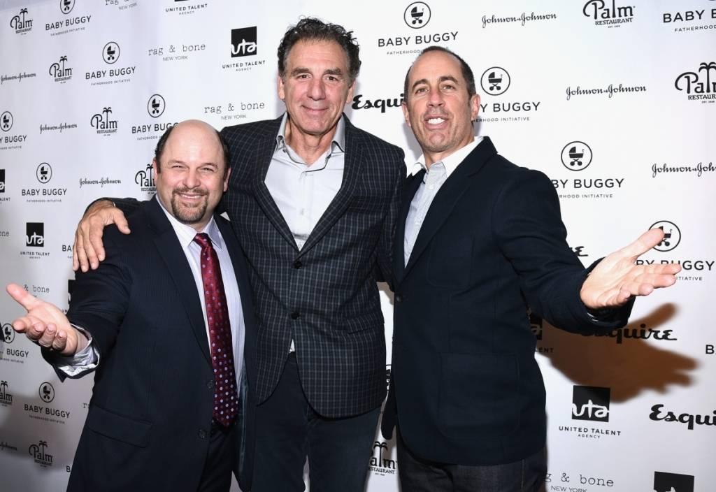 Jason Alexander, Michael Richards and Jerry Seinfeld