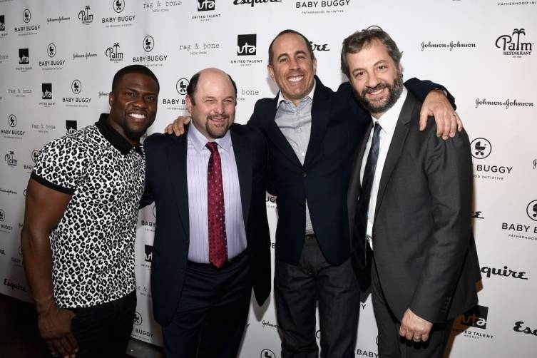 Jerry Seinfeld Hosts Baby Buggy Fatherhood Luncheon 3