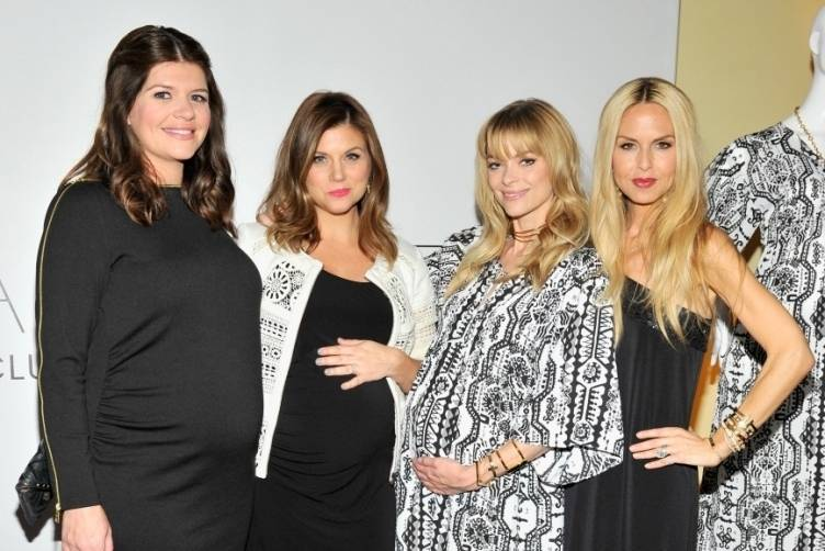 Casey Wilson, Tiffani Thiessen, Jaime King and Rachel Zoe