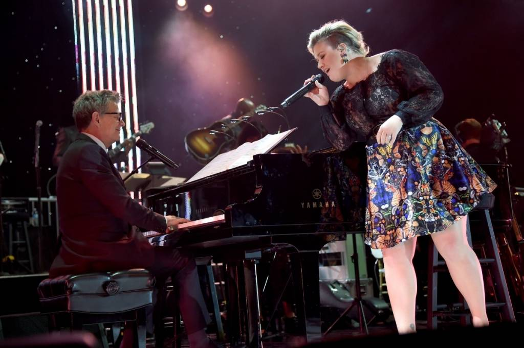 David Foster and Kelly Clarkson