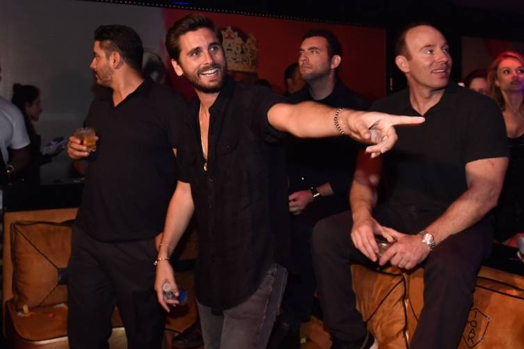 Scott Disick at 1 OAK.