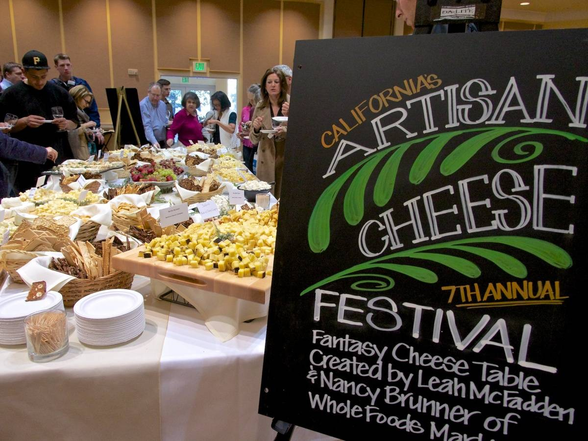 Artisan Cheese Festival sign credit Derrick Story