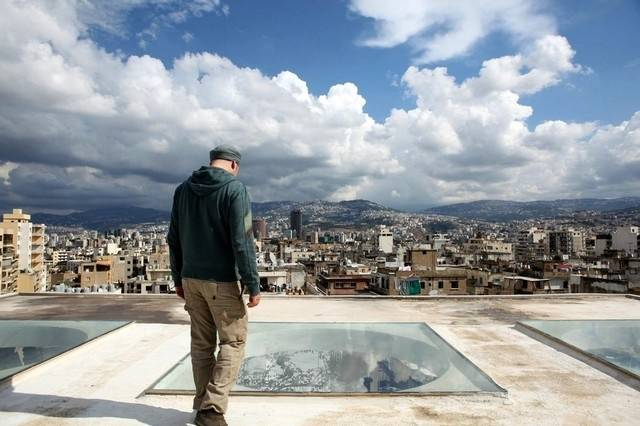 This stunning photograph of Ayman Baalbaki is one of the images included in Sueraya Shaheen's photo exhibit, Encounters, which is featured at La Fontaine Centre of Contemporary Art in Manama through June 10, 2015.