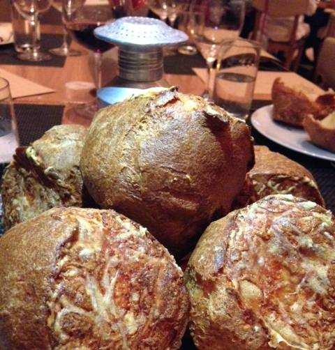 BLT's Signature Popovers with Gruyere