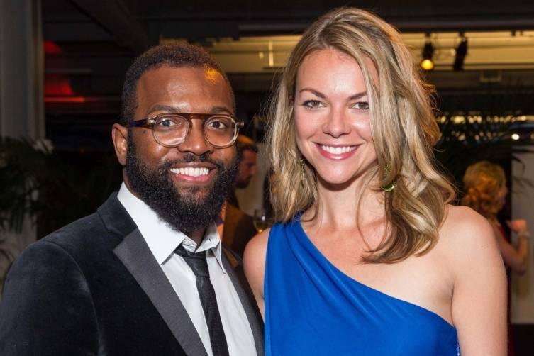 Baratunde Thurston and Lauren Schulte