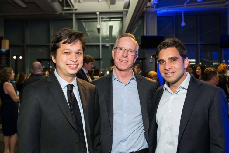 Ben Silbermann, Randy Wigginton and Vikram Bhaskaran