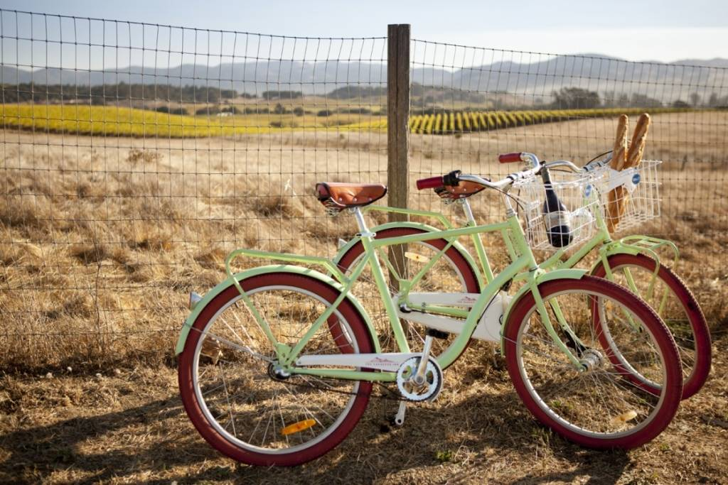 Bikes for use at the Carneros