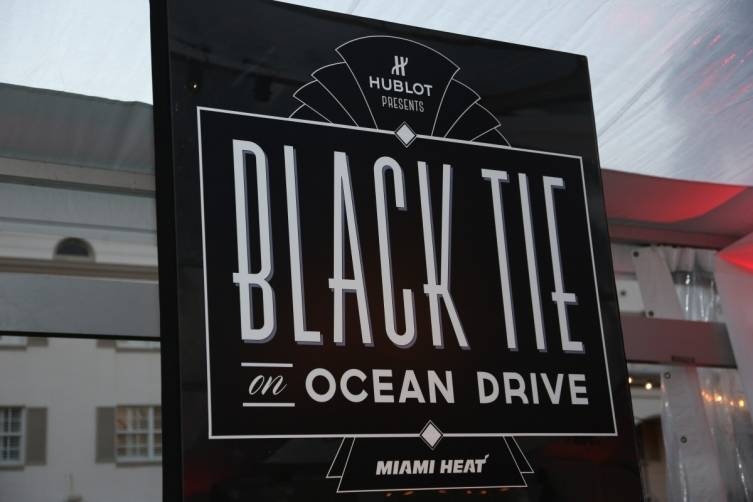 Black Tie on Ocean Drive