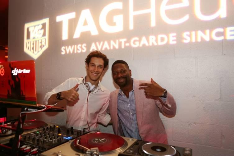 Bruno Senna & DJ Irie