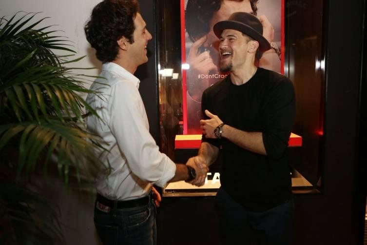 Bruno Senna & Nick Zano