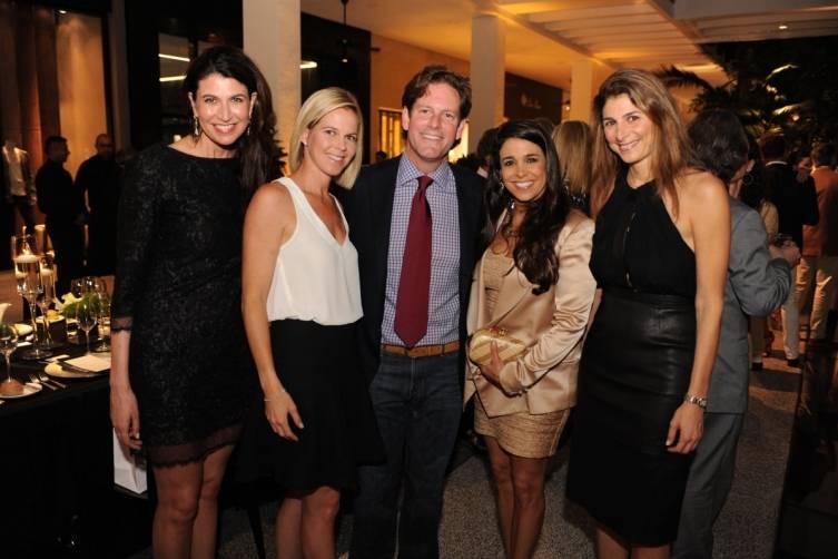 Carolyn Travis, Kristin Arbuckle Lazenby, Matthew Whitman Lazenby, Stephanie Sayfie Aagaard, & Lisa Sayfie