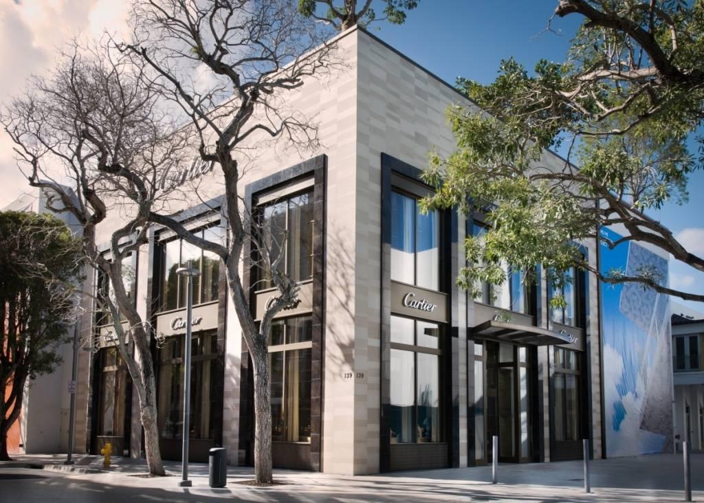 Cartier Design District Store exterior
