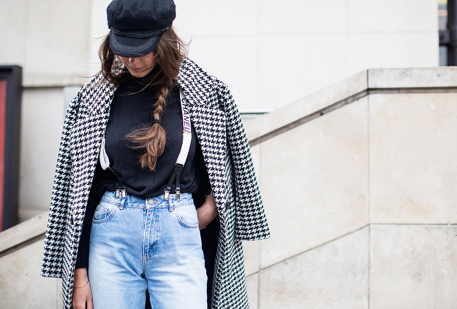 Chanel Suspenders