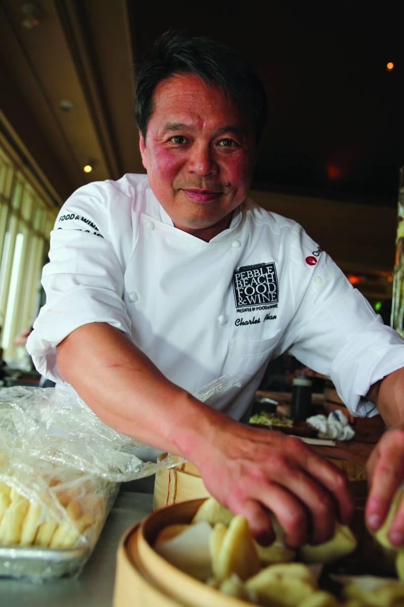Charles Phan at the Pebble Beach Food & Wine Festival