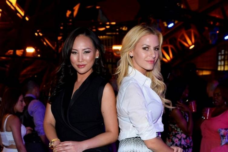 Chateau_Morgan Stewart and Dorothy Wang Pose Inside Chateau Nightclub & Rooftop_Bryan Steffy