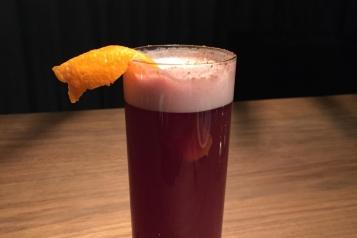 Clover Fizz Beer Cocktail