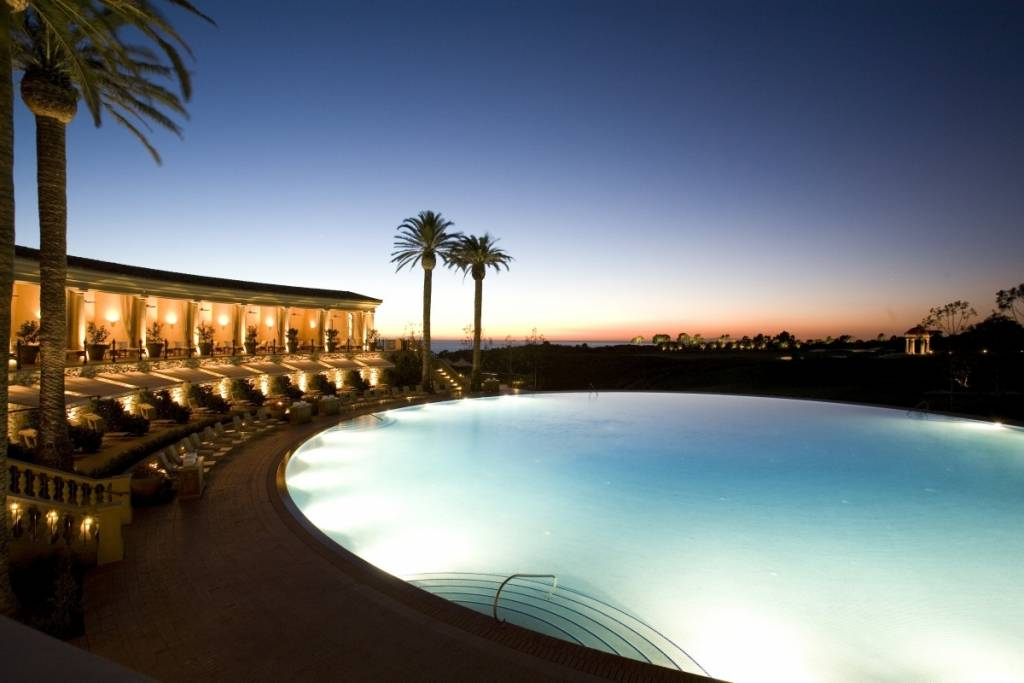 The Coliseum Pool at The Resort at Pelican Hill