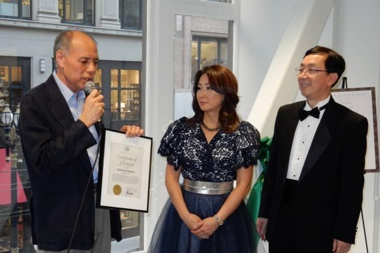 William Lee, Dr. Lisa Kang and Dr. David Kang